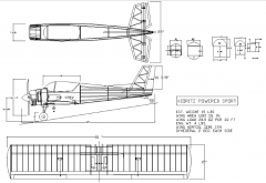 Kioritz Powered Sport model airplane plan