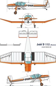 112 3v model airplane plan