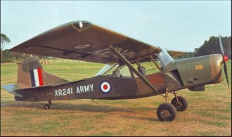Auster Aop Mk 9 model airplane plan
