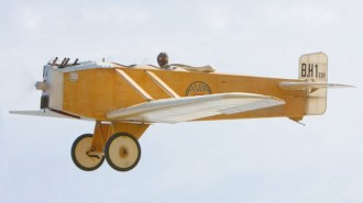 Avia BH-1 model airplane plan