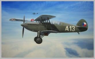Avia Bk-534 model airplane plan