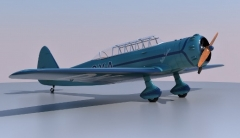 Be 252c Beta Scolar model airplane plan