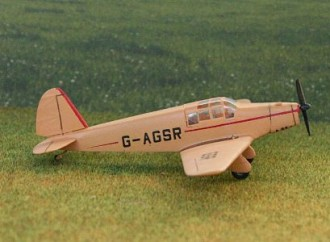 Be 550 Bibi model airplane plan