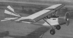 Blecha model airplane plan