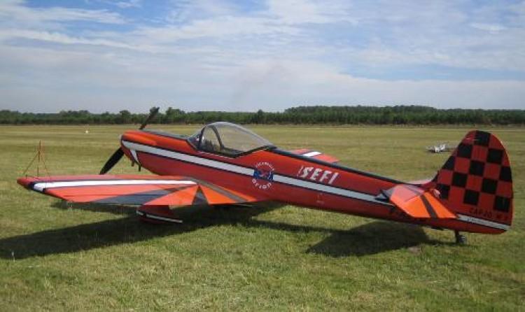 Cap 20 model airplane plan