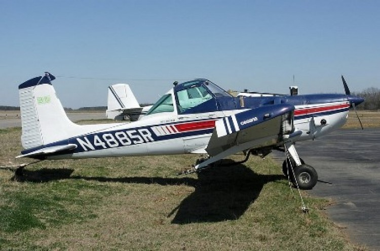 Cessna Agwagon model airplane plan