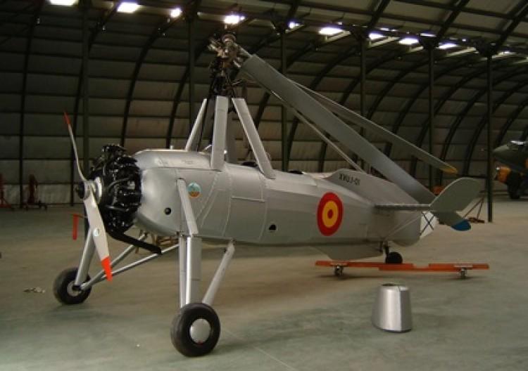 Cierva C-30 model airplane plan