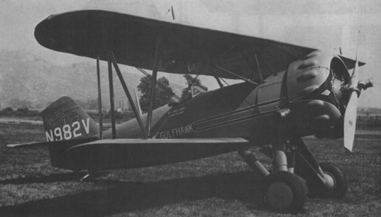 Curtiss Gulfhawk 1A model airplane plan