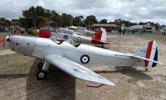 DH 94 Moth Minor model airplane plan