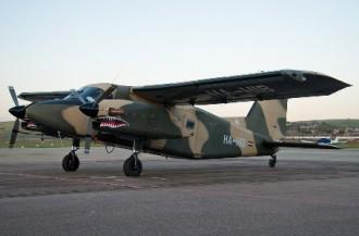 Dornier DO 28 model airplane plan