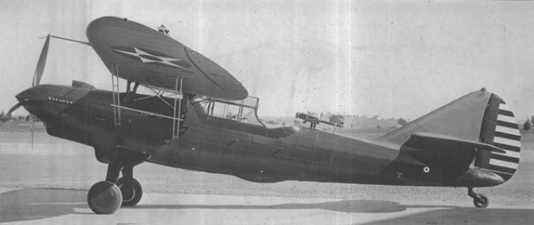 Douglas YO-31C Y10-43 model airplane plan