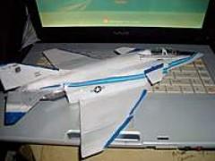 yrf-4b phantom 62-12200 model airplane plan