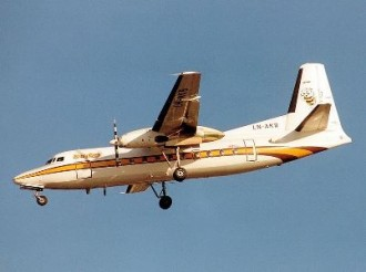 Fokker F 27 model airplane plan