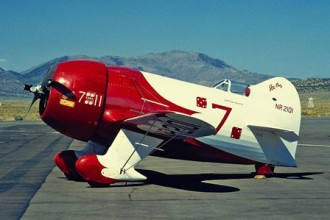 Gee Bee R-2 model airplane plan