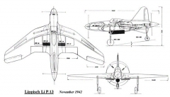 Henschel P 13 model airplane plan