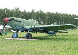 Ilyushin Il-10M Shturmovik model airplane plan
