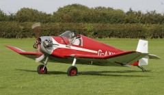 Jodel D 9 Bebe model airplane plan