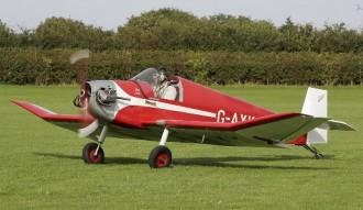 Jodel D 9 Bebe model airplane plan