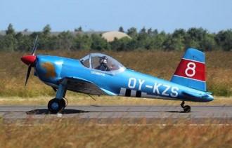 KZ-VIII model airplane plan