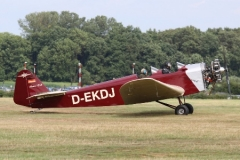 Klemm L-25D model airplane plan