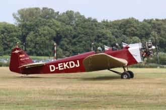 Klemm L-25D model airplane plan