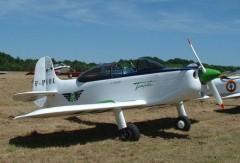 M.J.2 Tempete model airplane plan