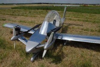 MC-10 Cri-Cri model airplane plan