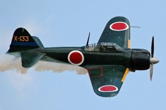 Mitsubishi A6M5 Zero model airplane plan
