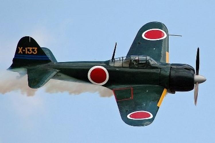Mitsubishi A6M5 Zero model airplane plan