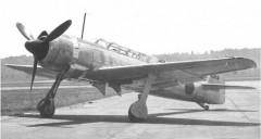 Nakajima C6N1 model airplane plan