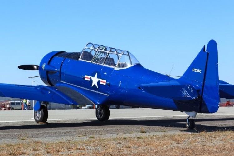 North American AT 65 Texan model airplane plan