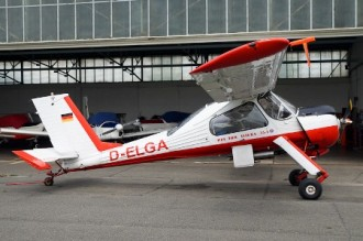 PZL-104 Wilga-2P model airplane plan