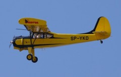 PZL 101 A Gawron model airplane plan