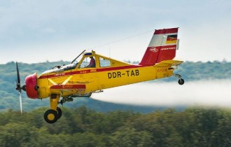 PZL 106 Kruk model airplane plan