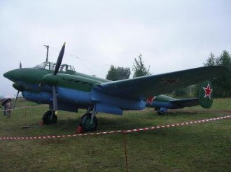 Petljakov PE-2 Lehky model airplane plan