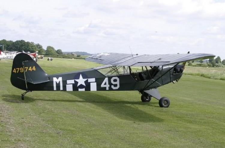 Piper L-4H model airplane plan