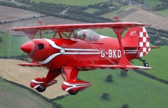 Pitts Special S-1S model airplane plan