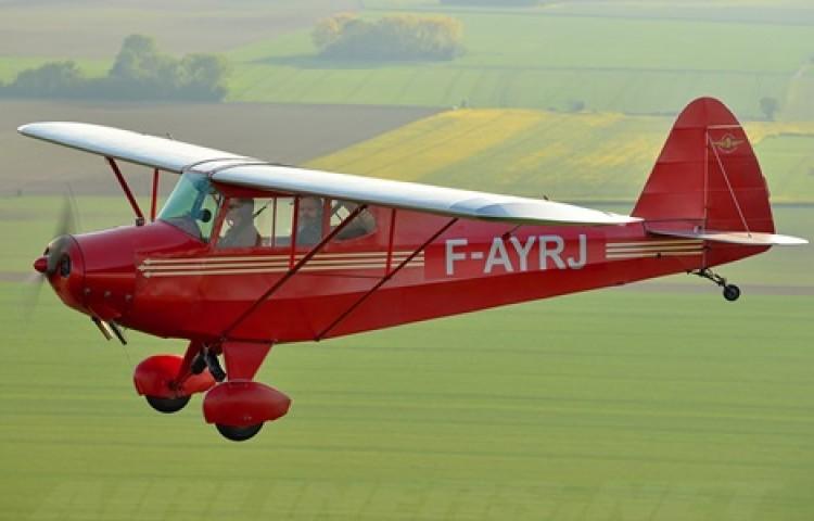 Porterfield CP 65 model airplane plan