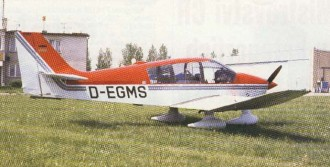 Robin DR 400 model airplane plan