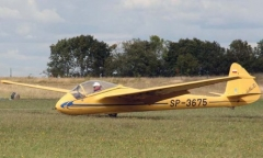 SZD-8 Jaskolka model airplane plan
