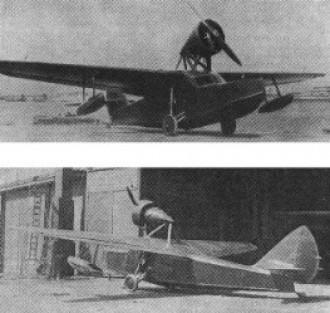 Savrov S-7 model airplane plan