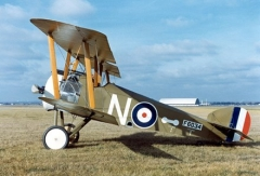 Sopwith Camel F 1 model airplane plan