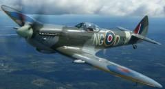 Spitfire LF Mk XII model airplane plan