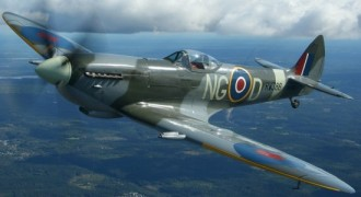 Spitfire LF Mk XII model airplane plan