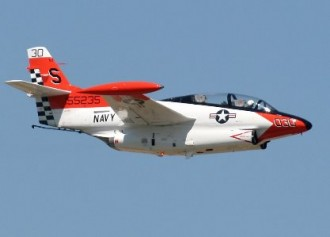T-2C Jet Trainer model airplane plan