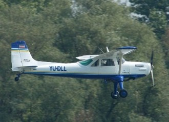 UTVA 56 model airplane plan