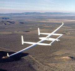 Rutan Voyager model airplane plan