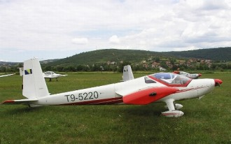 Vivat L-13SW model airplane plan