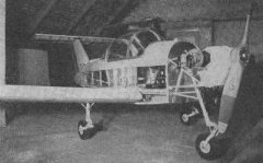 W-1 model airplane plan