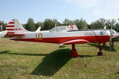 Yak 18 PM model airplane plan